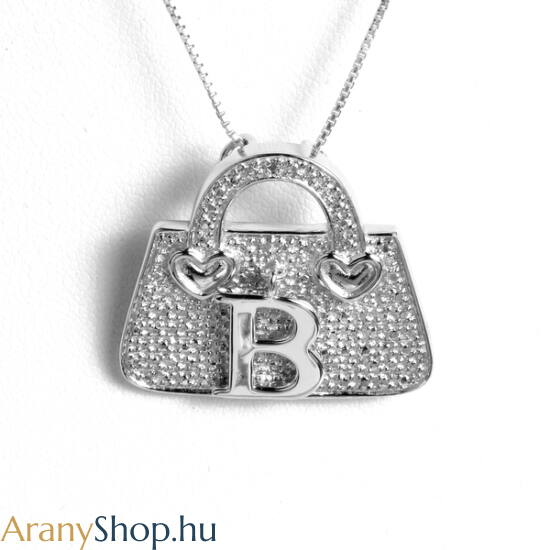 6c7f93476 Ezüst táska bross-medál