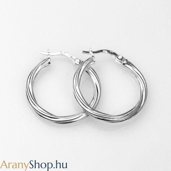 60e0a41b4b Ezüst karika fülbevaló - Ezüst karika fülbevalók