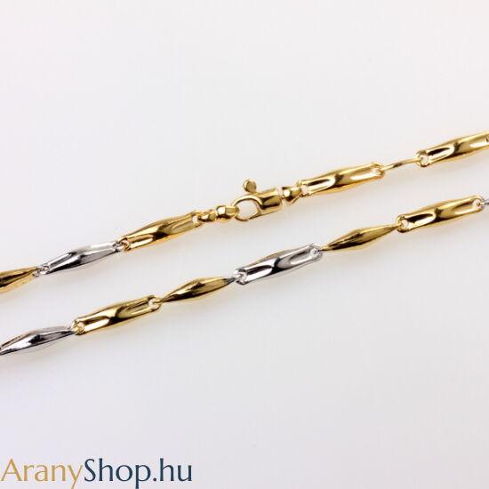 Aranyozott ezüst barakka nyaklánc
