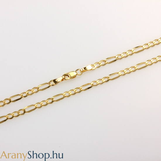 14karátos arany figaro nyaklánc