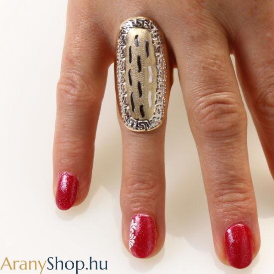 14karátos arany női gyűrű