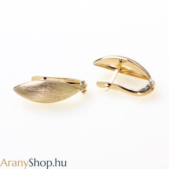 14karátos arany franciazáras fülbevaló