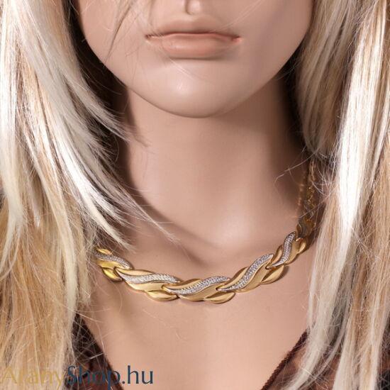 14karátos arany nyakék