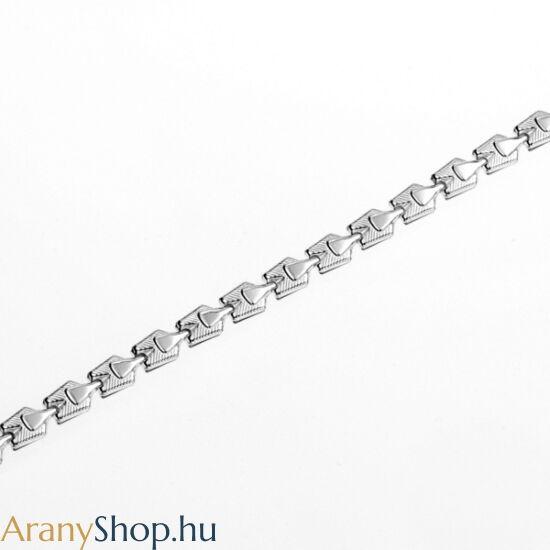 Ezüst bokalánc 23 vagy 27 cm-es (állítható)
