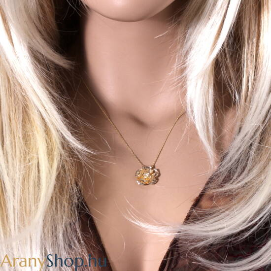 14karátos arany nyaklánc medállal