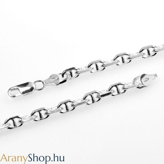 Ezüst tömör pálcás anker nyaklánc