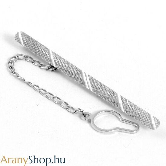 2141dae9d0 14 karátos fehér arany nyakkendőtű - Arany nyakkendőtűk