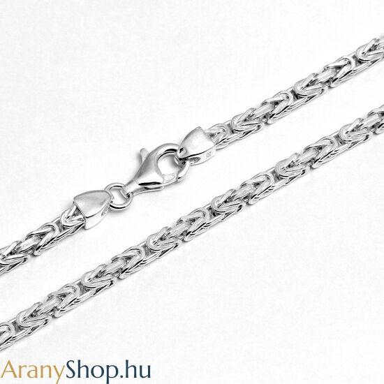 Ezüst tömör király nyaklánc ø3.3mm