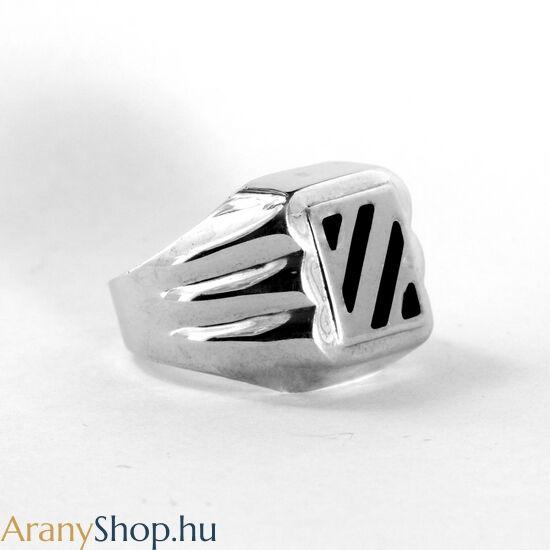 Ezüst pecsét gyűrű