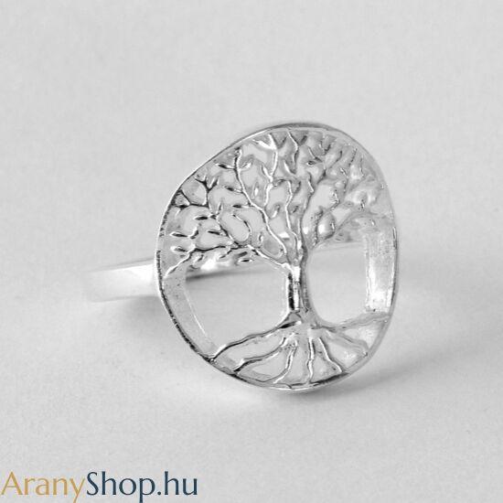Ezüst életfa gyűrű