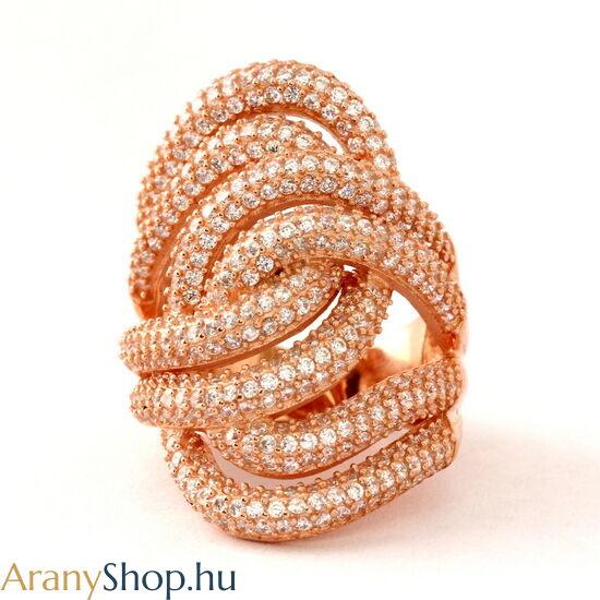 Aranyozott ezüst gyűrű