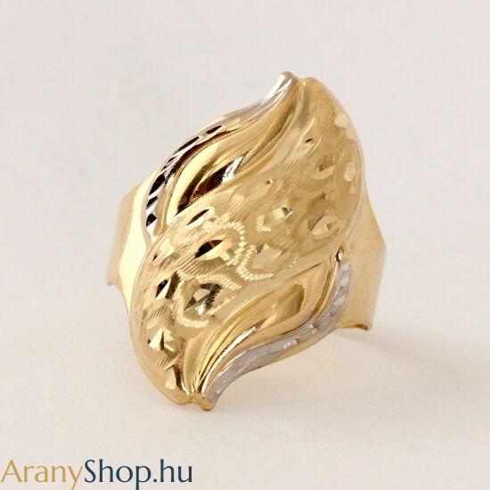 14 karátos arany gyűrű