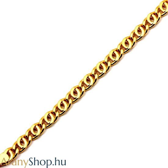 14 karátos arany gömb scharless karlánc