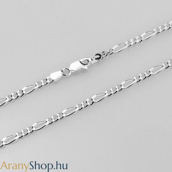 legjobb cipő árnyalatai új életmód Ezüst tömör figaro nyaklánc - Akciós ezüst nyakláncok