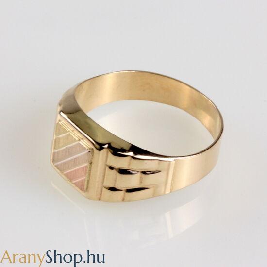 14karátos arany pecsét gyűrű