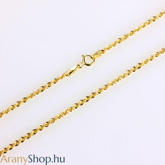 14karátos arany walles nyaklánc ø2mm