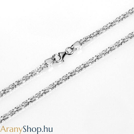 Ezüst tömör király nyaklánc ø2.3mm