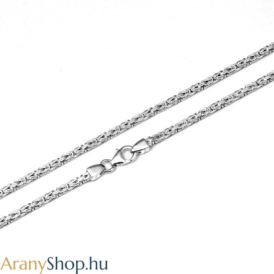 Ezüst király nyaklánc ø2mm