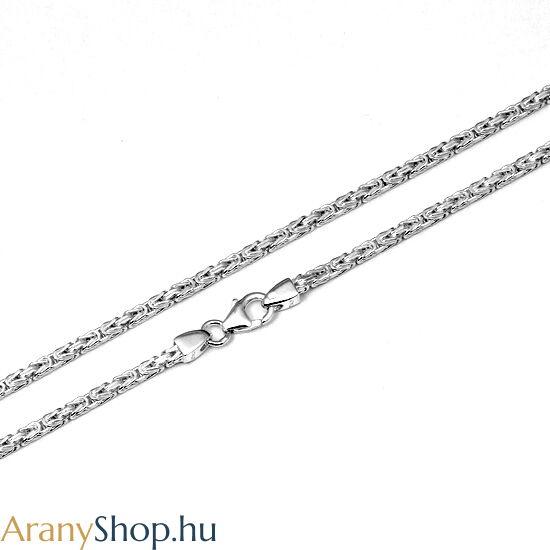 Ezüst tömör király nyaklánc ø2mm
