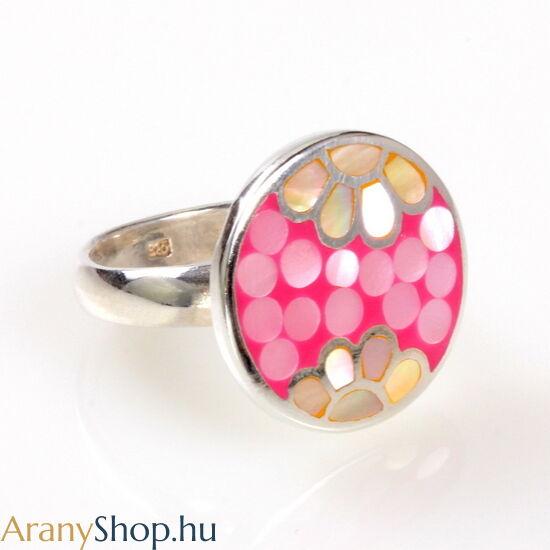 Ezüst női gyűrű