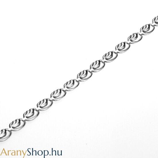 Ezüst bokalánc 23.5 vagy 27 cm-es (állítható)