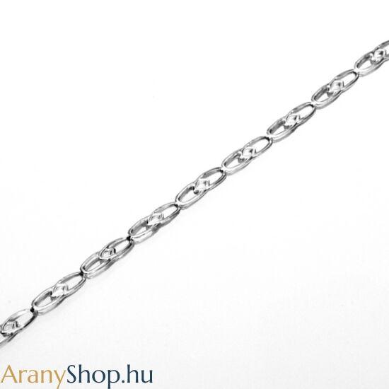 Ezüst bokalánc 21 vagy 24.5 cm-es (állítható)