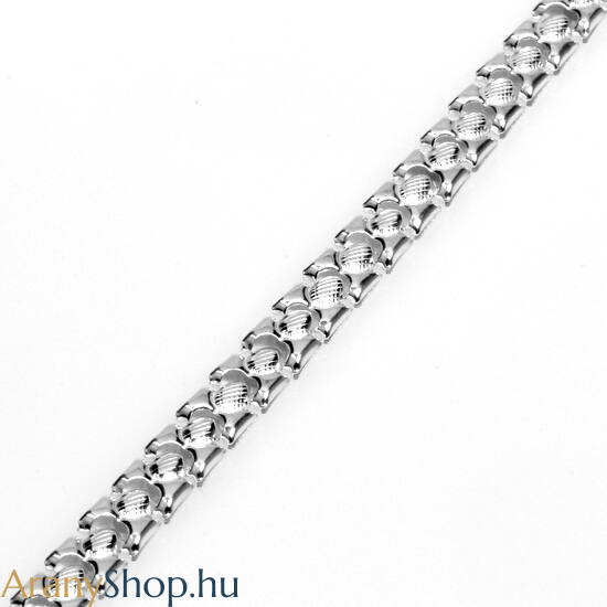 Ezüst női karkötő