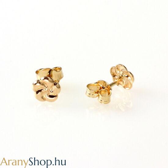 14karátos arany stekkeres fülbevaló