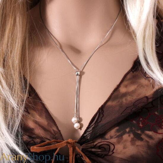 Ezüst nyaklánc medállal
