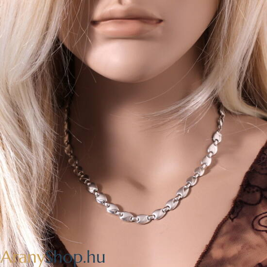 14karátos fehér arany nyaklánc