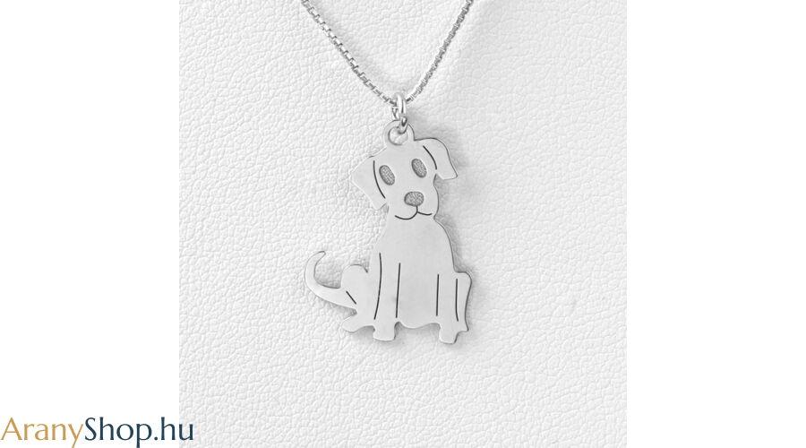 Ezüst kutya medál - Ezüst kő nélküli medálok fac09bb7d9